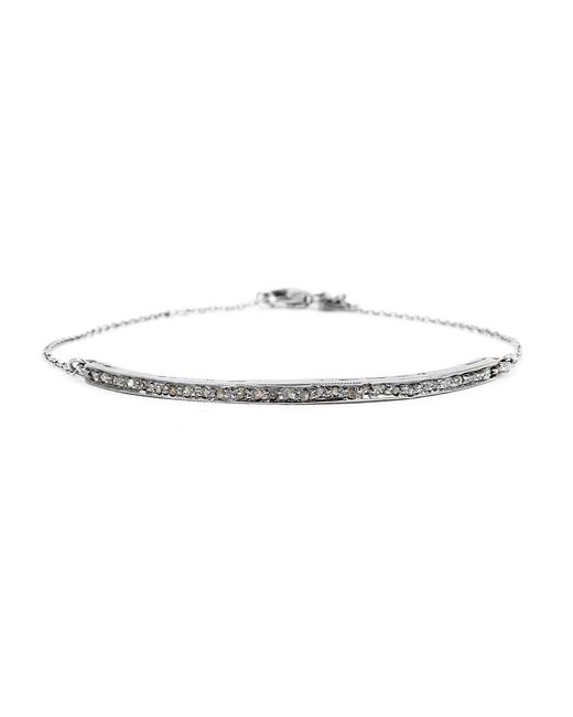 Adornia   Metallic Champagne Diamond Mercer Bracelet   Lyst