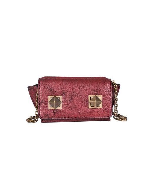 Sonia Rykiel - Women's Red Leather Shoulder Bag - Lyst
