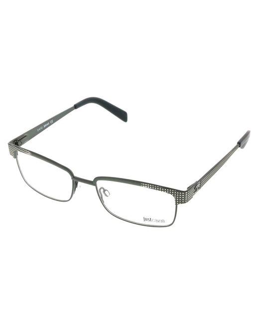 Just Cavalli - Jc0548/v 098 Olive Green Rectangle Optical Frames - Lyst