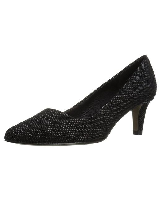 Easy Street - Black Womens Pointe Closed Toe Classic Pumps - Lyst