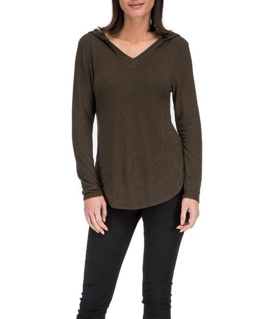 Bobeau - Green Cozy Sweater Hoodie - Lyst