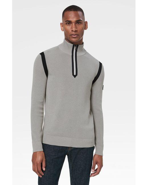 Bogner Yate Knit Pullover In Gray for men