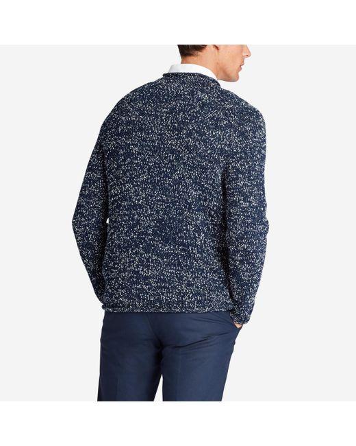 Bonobos - Blue Italian Cotton Roll Neck Sweater for Men - Lyst