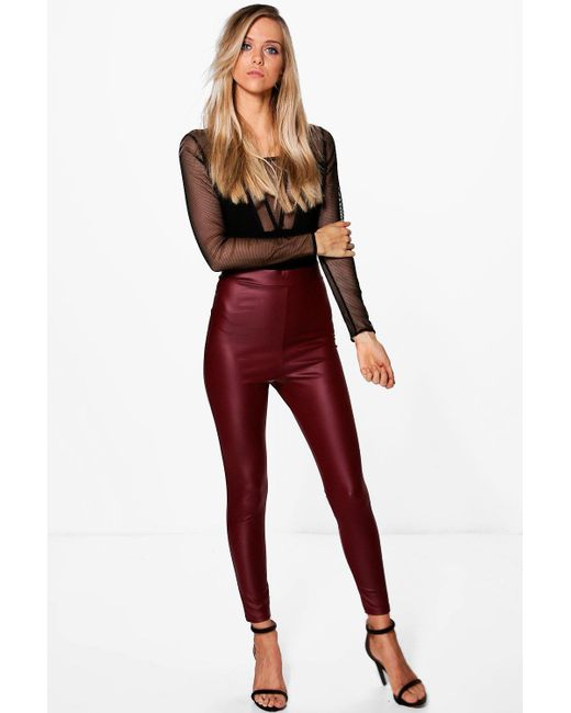 Find great deals on eBay for red leather leggings. Shop with confidence.