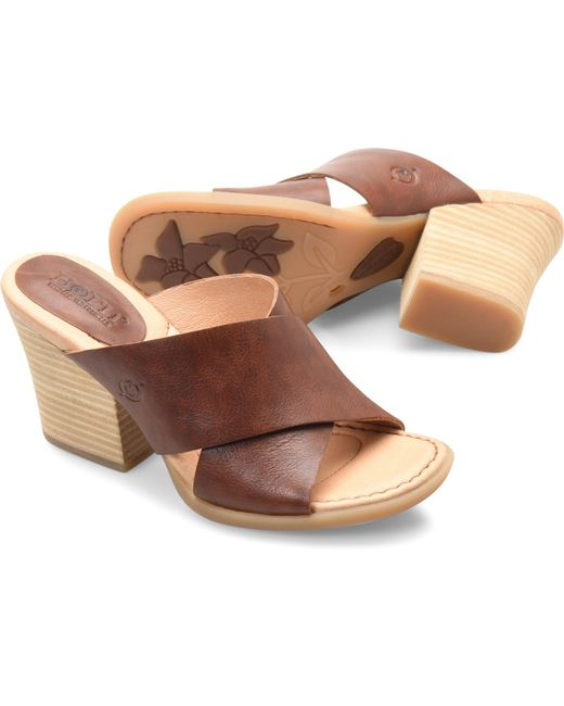 e8f79b67a292ce Born Shoes - Brown Madison - Lyst ...