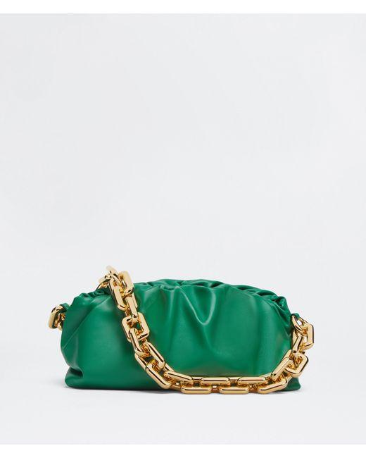 Bottega Veneta Green Chain Pouch