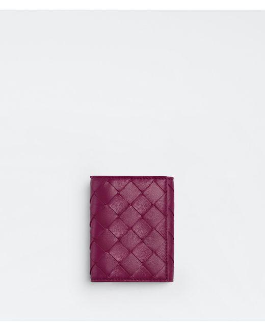 Bottega Veneta Purple Kartenetui