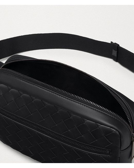 メンズ Bottega Veneta ベルトバッグ Black