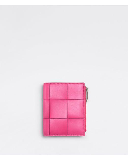 Bottega Veneta 二つ折りウォレット Pink
