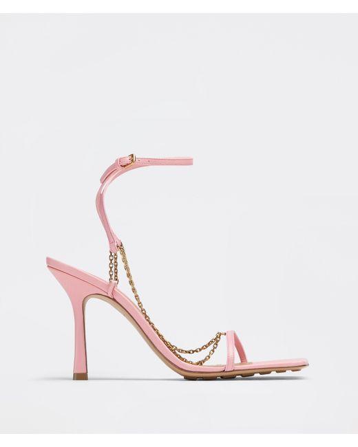 Bottega Veneta ストレッチ サンダル Pink