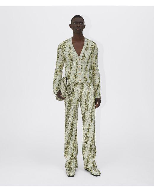 メンズ Bottega Veneta Trousers Green