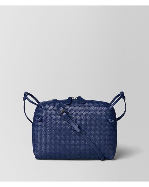 Bottega Veneta - Blue Atlantic Intrecciato Nappa Messenger - Lyst
