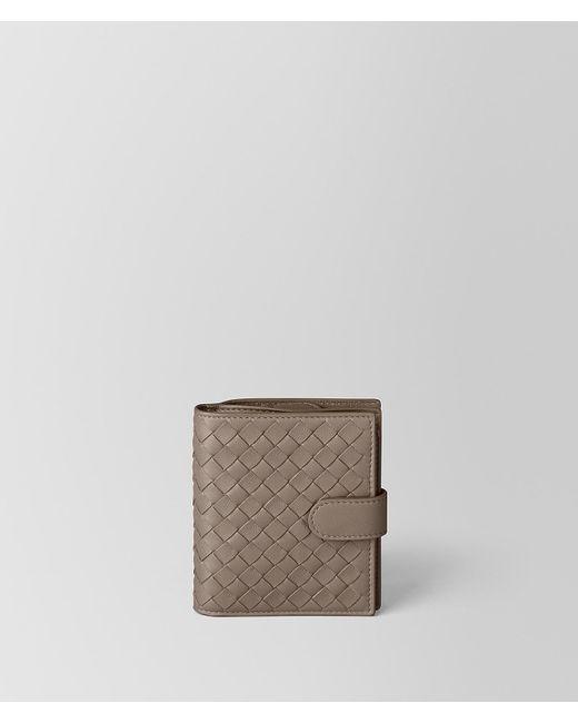 Bottega Veneta - Multicolor Limestone Intrecciato Nappa Mini Wallet - Lyst