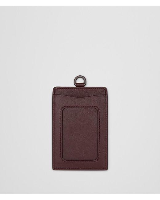 Bottega Veneta - Brown Dark Barolo Intrecciato Nappa Train Pass Case - Lyst