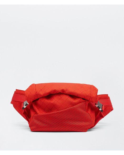 メンズ Bottega Veneta ベルトバッグ Red