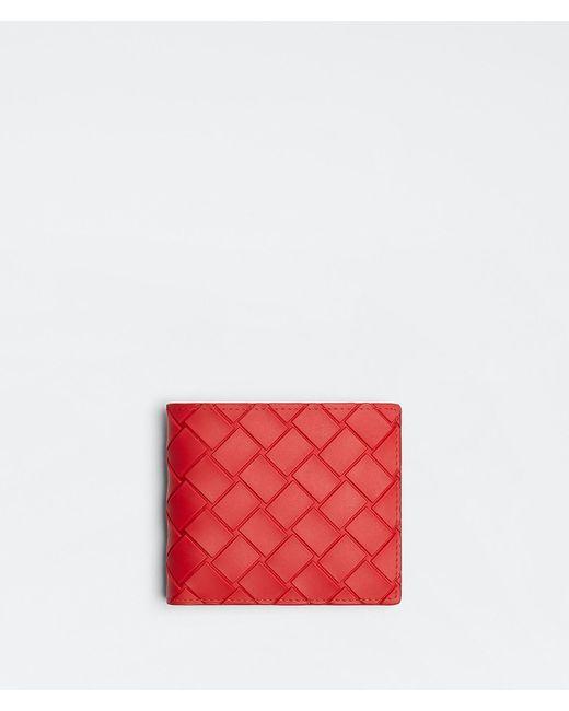 メンズ Bottega Veneta 二つ折りウォレット Red