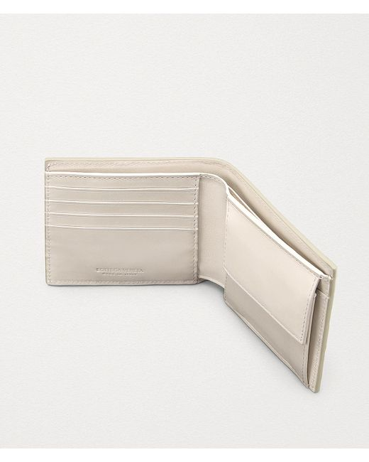 メンズ Bottega Veneta コインケース付き二つ折りウォレット Multicolor