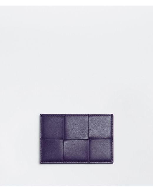 Bottega Veneta Credit Card Case Purple