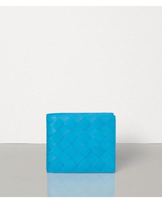 メンズ Bottega Veneta 二つ折りウォレット Blue