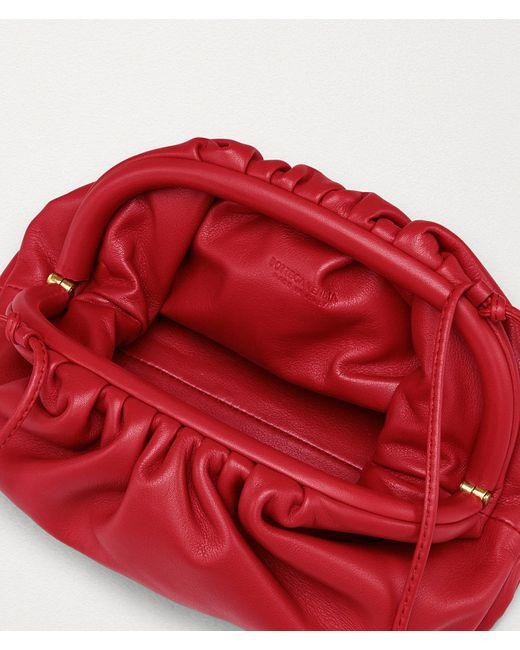 Bottega Veneta Red THE MINI POUCH