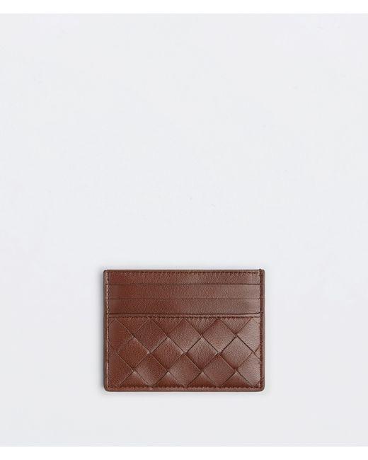 Bottega Veneta Credit Card Case Brown