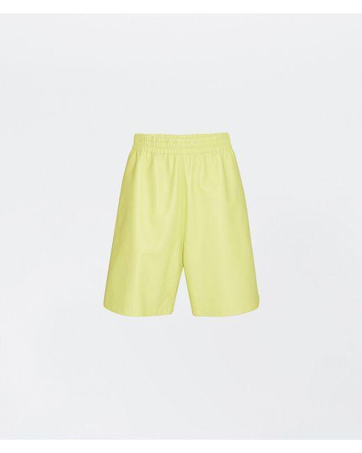 メンズ Bottega Veneta ショートパンツ Yellow