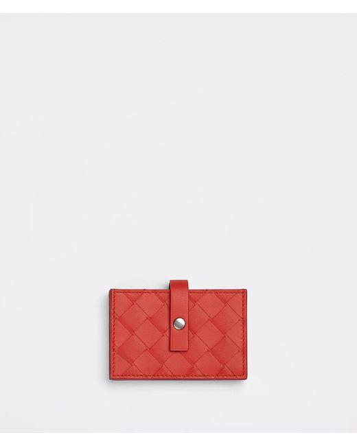 メンズ Bottega Veneta カードケース Red