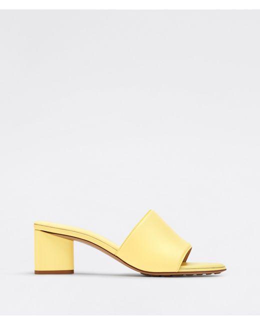 Bottega Veneta Yellow Band Sandals