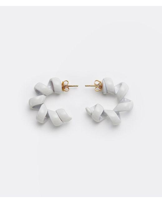 Bottega Veneta Metallic Earrings
