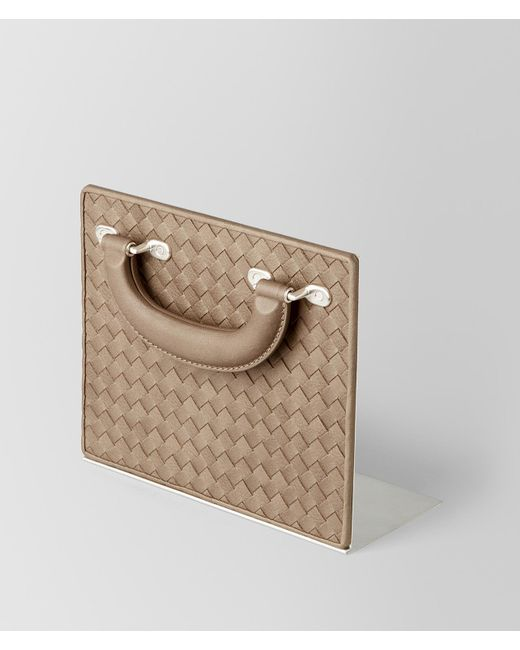 Bottega Veneta - Multicolor Ash Intrecciato Vn Vintage Leather Bookend - Lyst