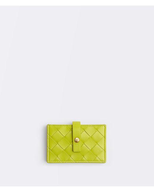 Bottega Veneta マルチカードケース Yellow