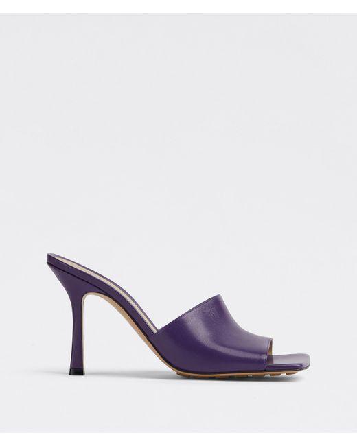 Bottega Veneta Purple Stretch Mules