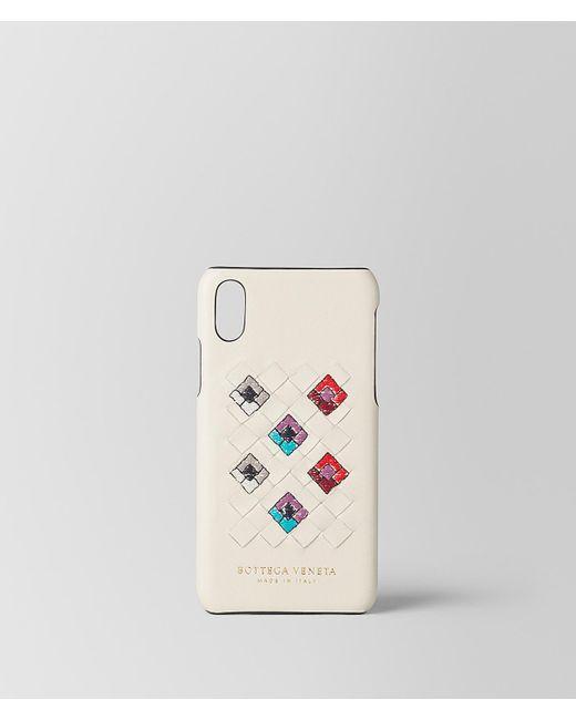 Bottega Veneta - Multicolor Mist Intrecciato Squadrato High-tech Case - Lyst