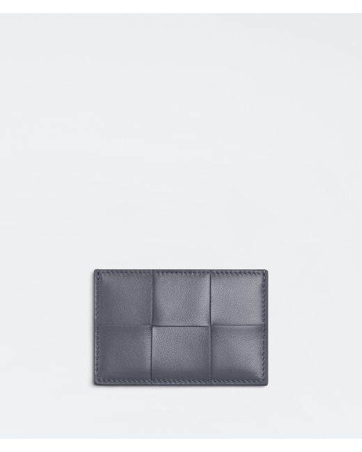 Bottega Veneta Credit Card Case Gray