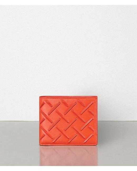 メンズ Bottega Veneta 二つ折りウォレット Orange