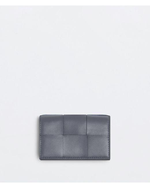 Bottega Veneta Business Card Case Gray