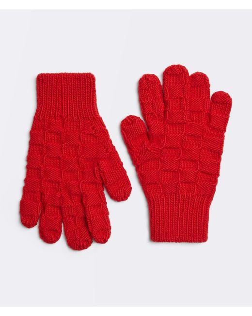 メンズ Bottega Veneta Gloves Red