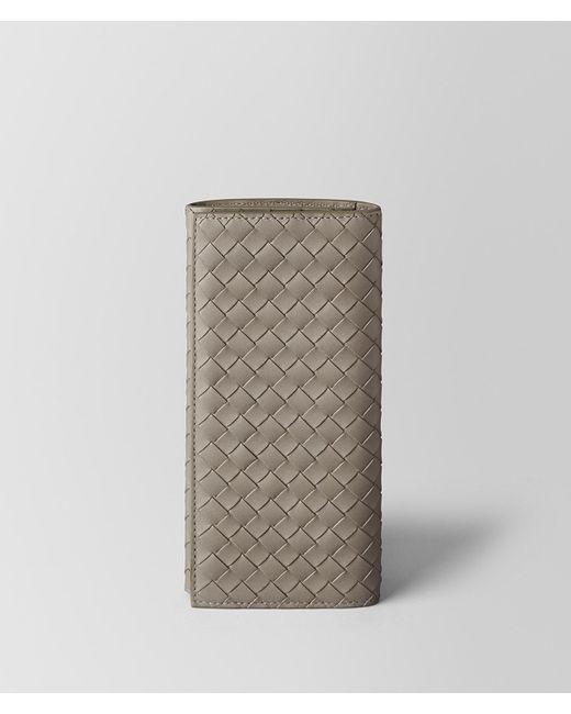 Bottega Veneta - Multicolor Dark Cement Intrecciato Vn Continental Wallet for Men - Lyst