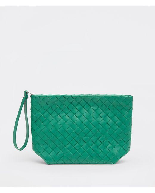 メンズ Bottega Veneta Pouch Green