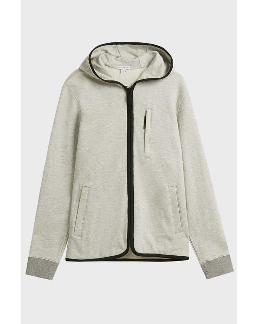 James Perse - Multicolor French Terry Cotton Hoodie - Lyst