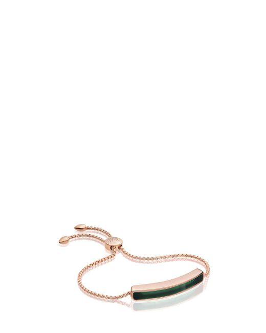 Monica Vinader   Pink Baja Bracelet   Lyst