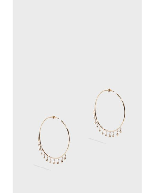 Jacquie Aiche - Multicolor Shaker Hoops - Lyst
