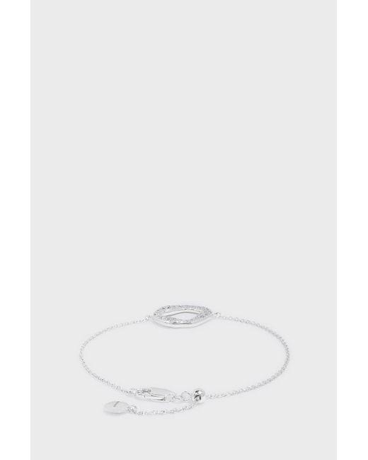 Monica Vinader | Multicolor Riva Diamond Round Chain Bracelet | Lyst