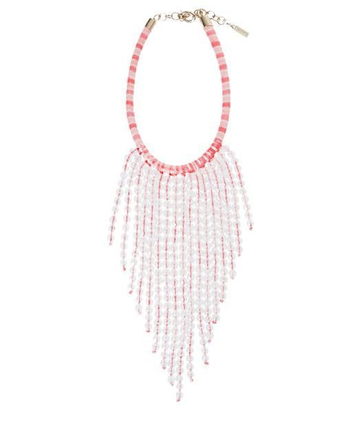 Missoni | Pink Fringed Necklace | Lyst