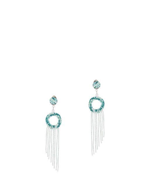 Missoni | Green Fringed Earrings | Lyst