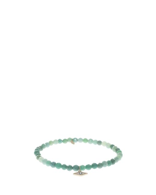 Sydney Evan | Green Eye Pendant Bracelet | Lyst