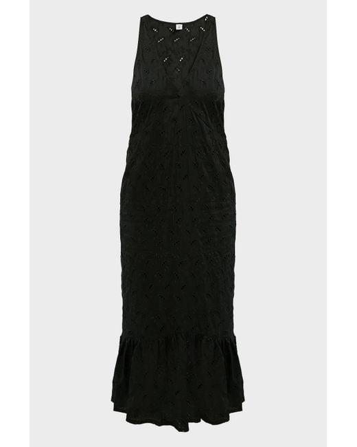 Sir. The Label Elodie Cotton-silk Mini Dress In Black