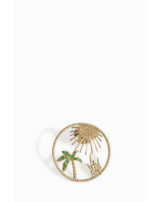 Yvonne Léon | Multicolor Soleil Palm Tree Earring | Lyst