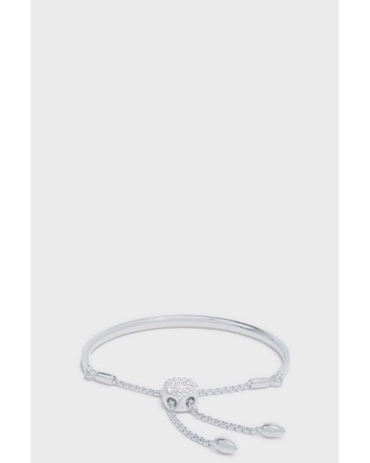 Monica Vinader | Multicolor Petite Fiji Diamond Toggle Bracelet | Lyst