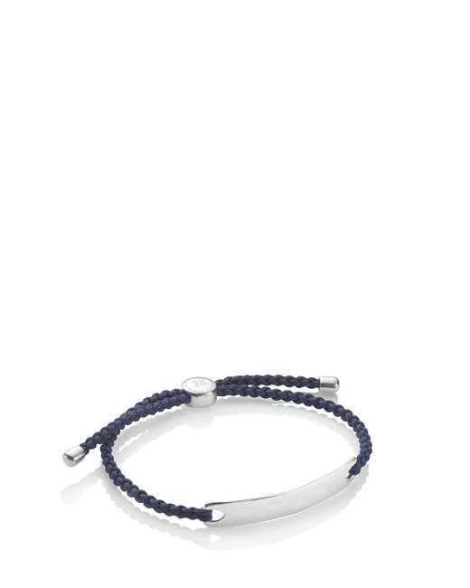 Monica Vinader | Black Havana Mens Bracelet for Men | Lyst